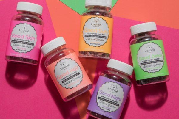 On craque pour Lashilé Beauty, la nutricosmétique haute en couleurs!